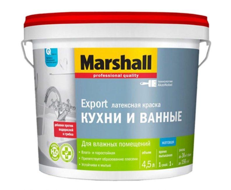Краска Marshall