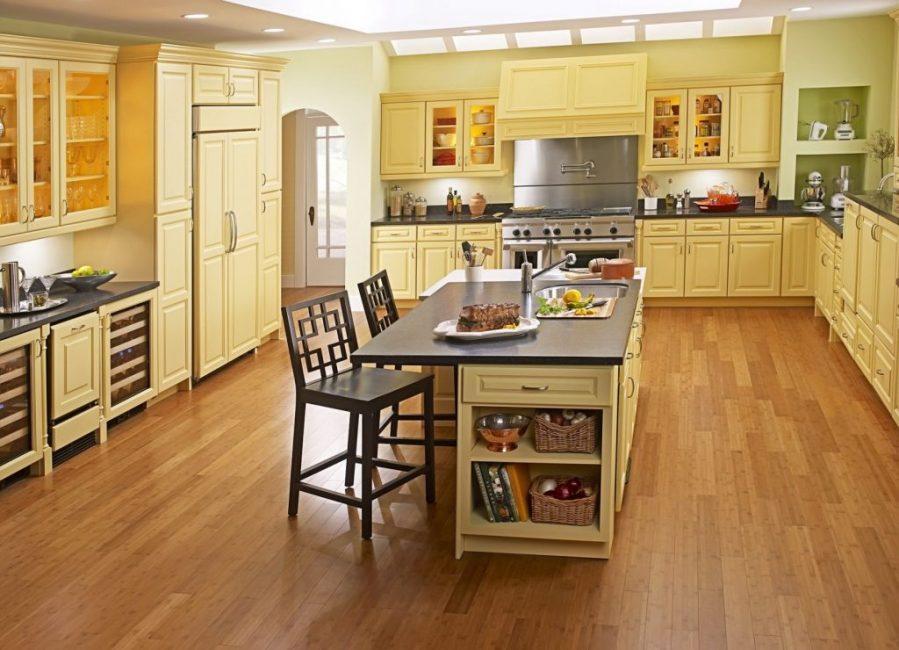 Линолеум на кухне