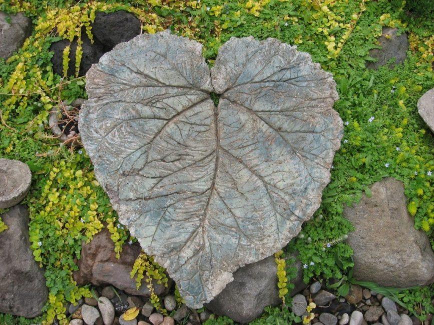 Каменные листья