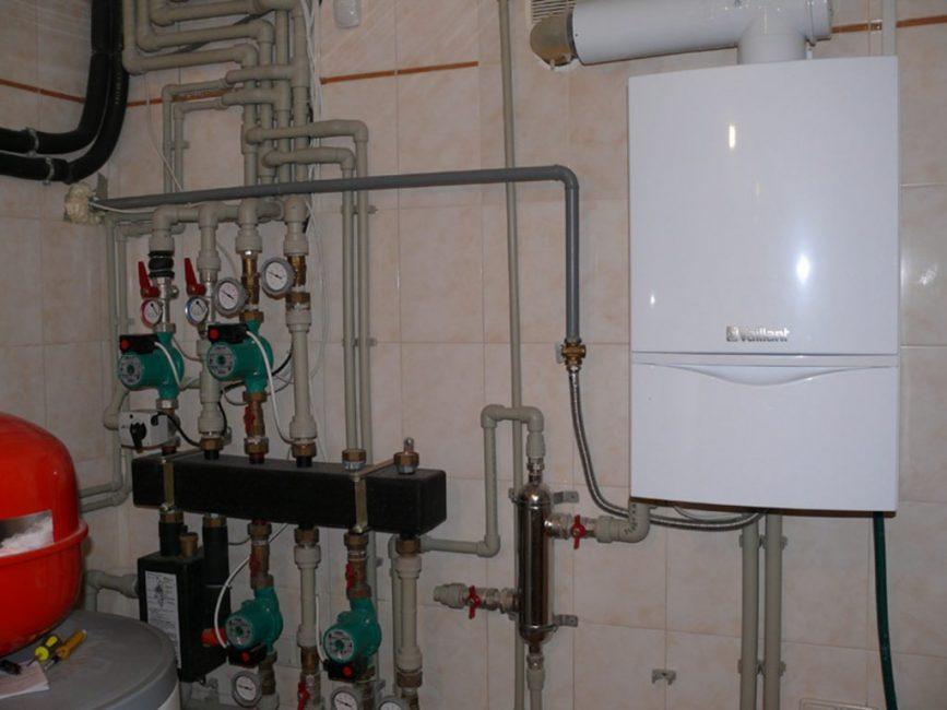 Отопительный газовый прибор