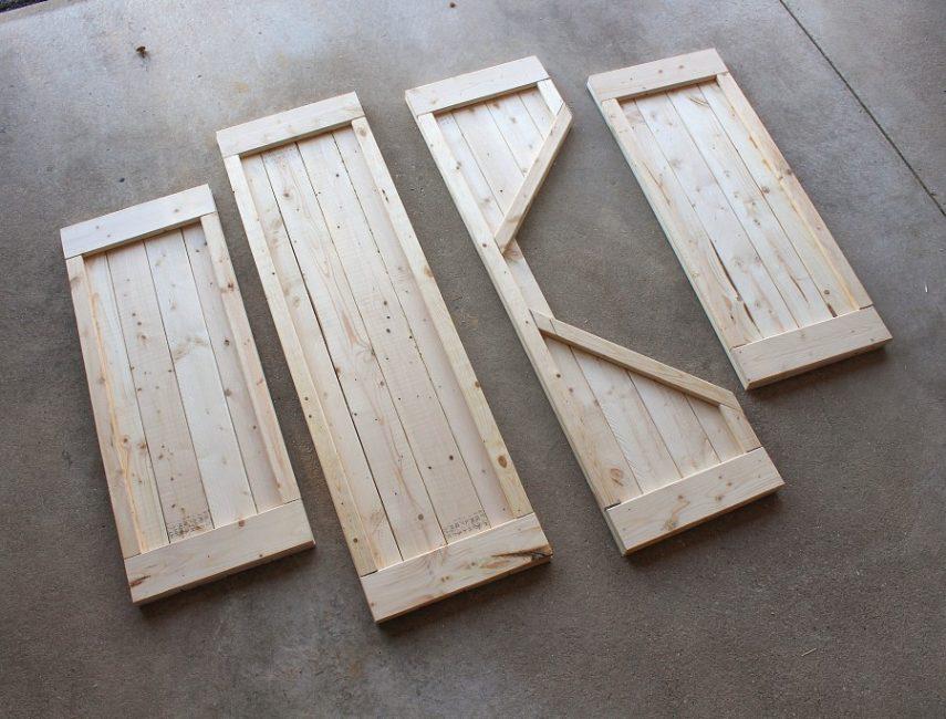 Заготовки для деревянного ложа