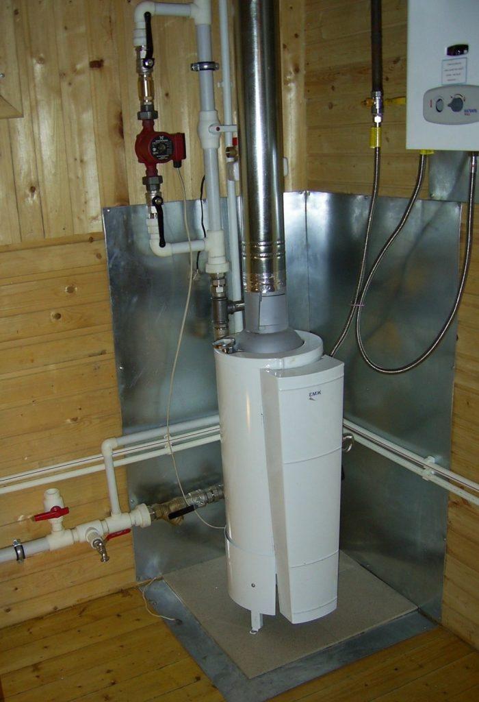 Смонтированное газовое оборудование