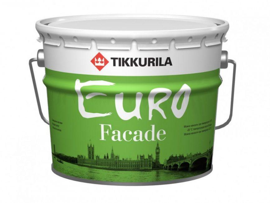 Tikkurila Euro Fasad (Силикатная)