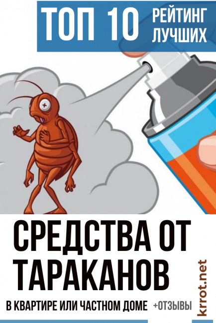 ТОП-10 Лучших Средств от Тараканов в Квартире Отзывы