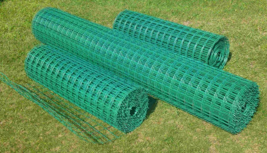 Пластифицированная сетка