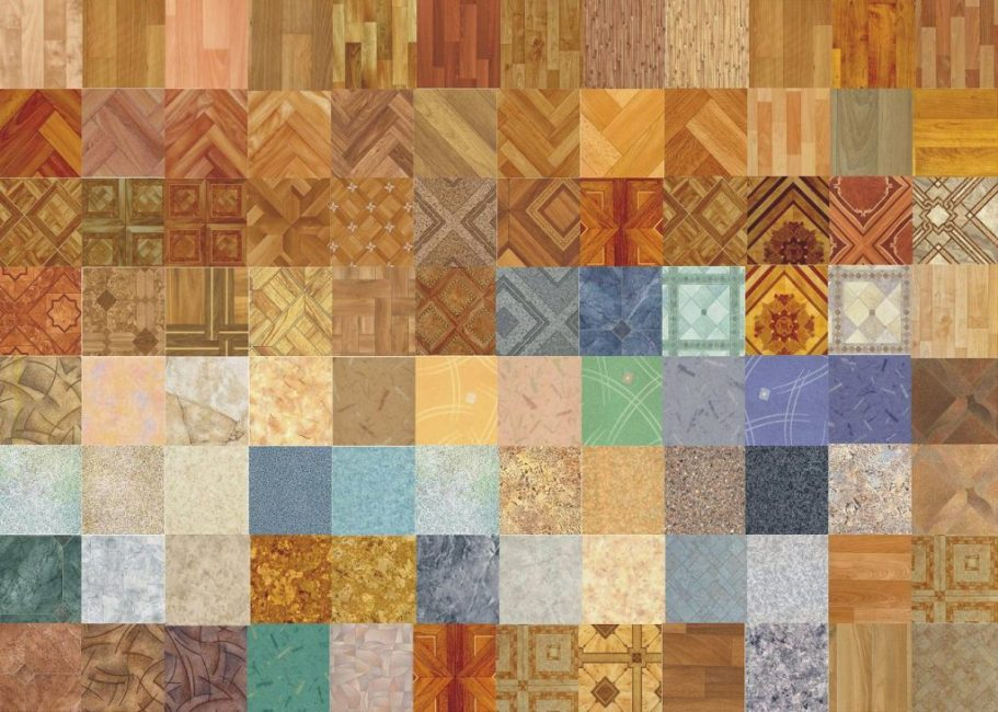 Многообразие оттенков и текстур