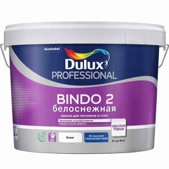 Красящие покрытия фирмы Dulux отличаются тиксотропностью, эластичностью и высокой укрывистостью