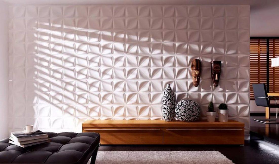 Декоративные 3D-плиты