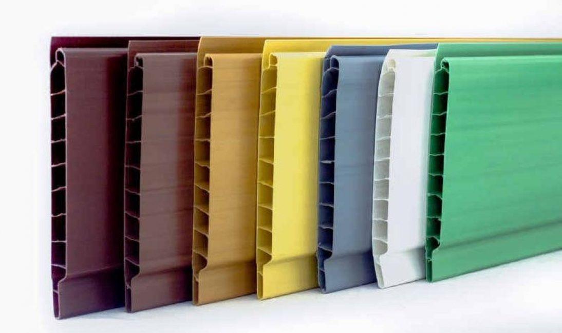 Образцы пластиковой облицовочной доски