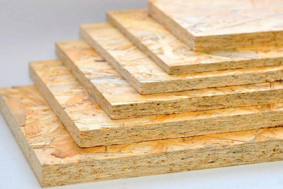 Листовые плиты из прессованной стружки