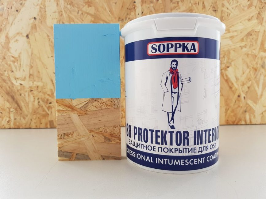 Лакокрасочный материал Soppka
