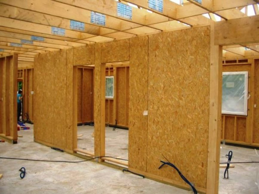 Стеновые панели OSB
