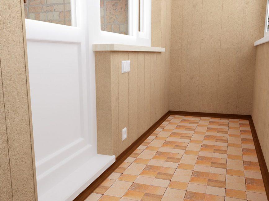 Балкон - помещение, которому свойственны перепады температуры и влажности
