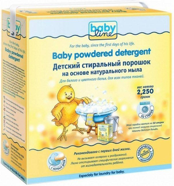 Немецкий продукт Babyline не содержит потенциально опасных компонентов