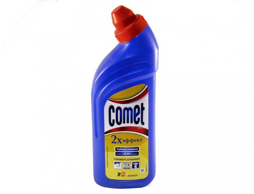 Comet - препарат с двойным действием: очищение и дезинфекция