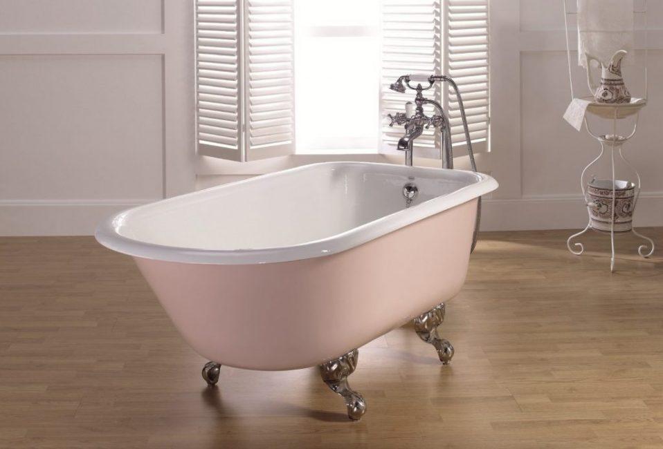 Эмалированная ванная