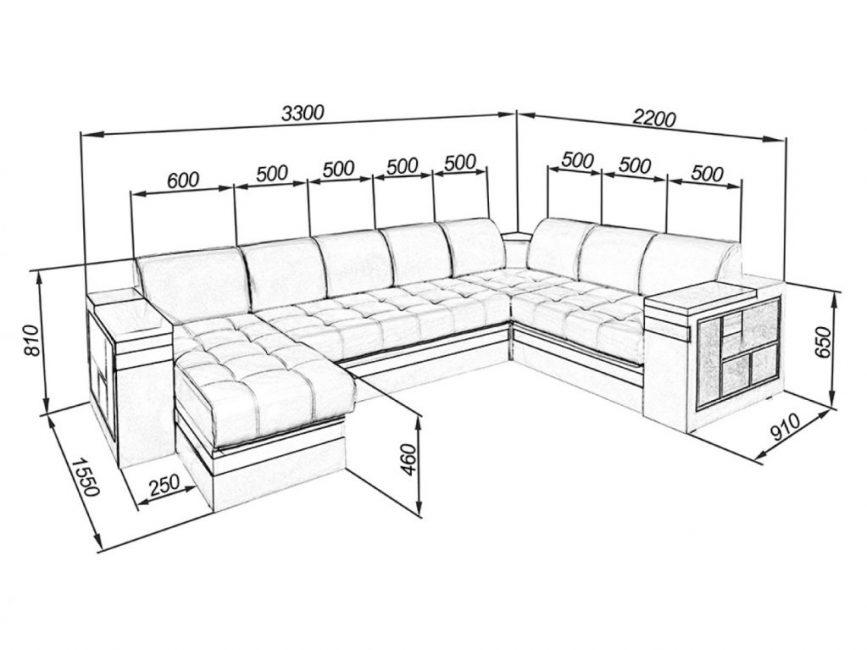 Размер дивана не аналогичен размеру спального места
