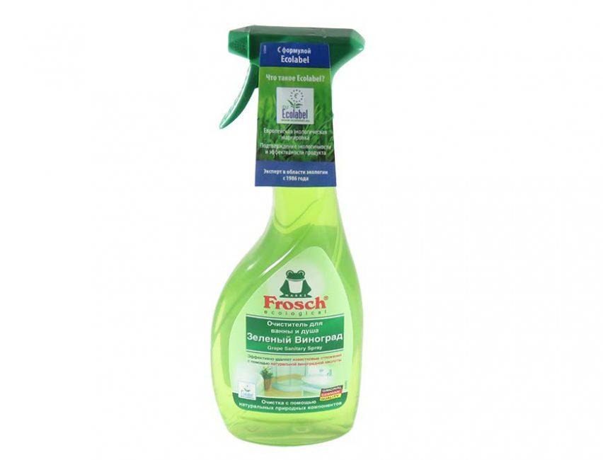Frosch - очиститель, безопасный для окружающей среды