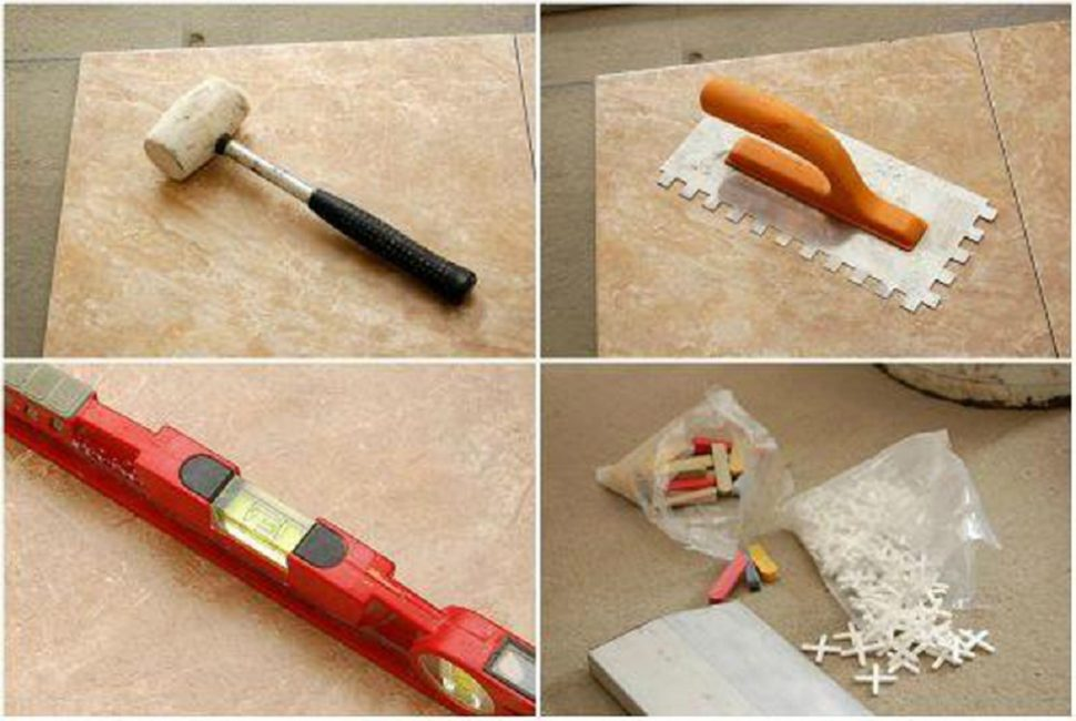 Инструменты, требуемые для работы