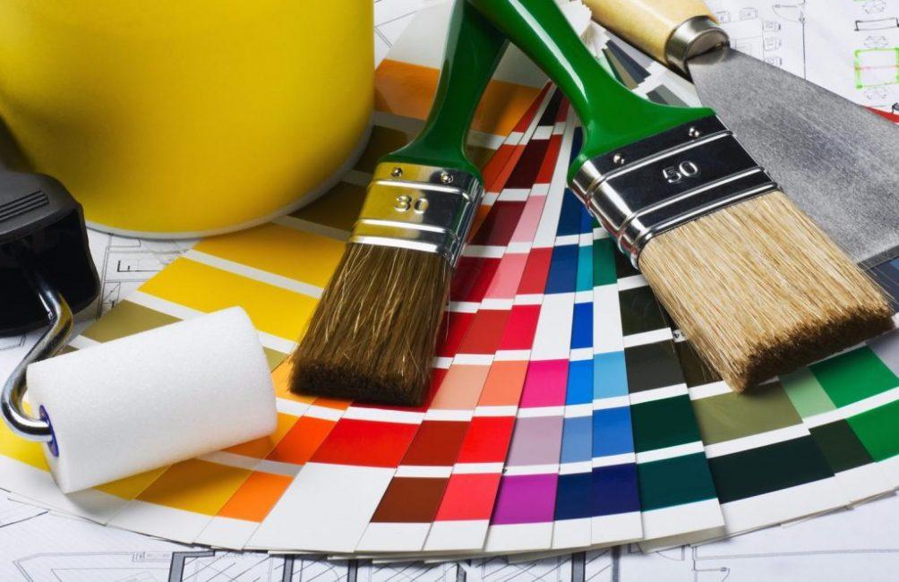 Краски имеют различную цветовую палитру
