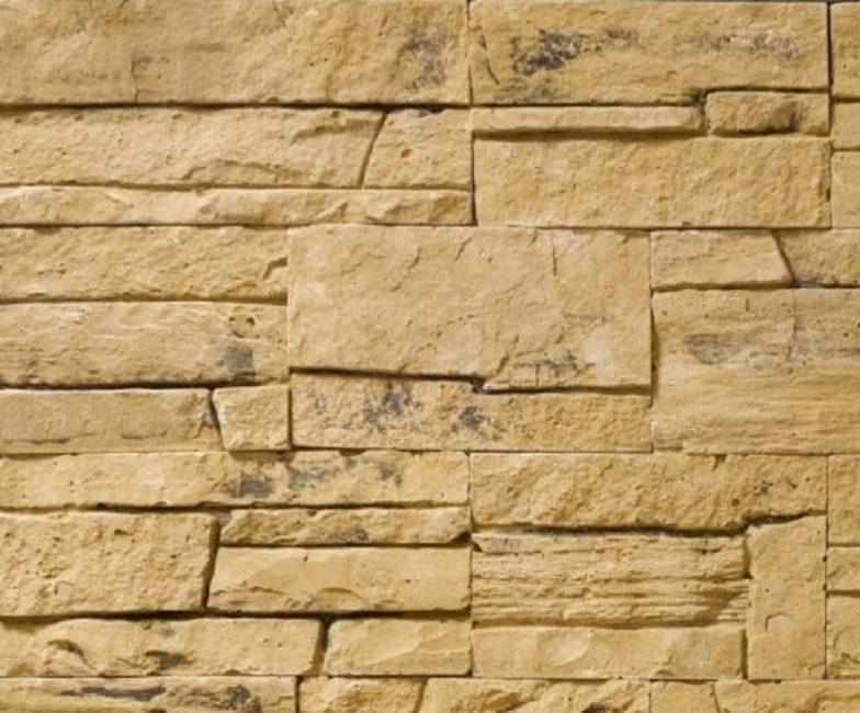 С помощью плитки на основе гипса можно имитировать разные виды камня