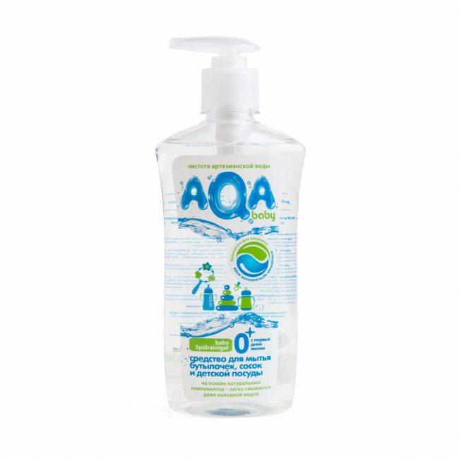 Средство для мытья детской посуды AQA Baby