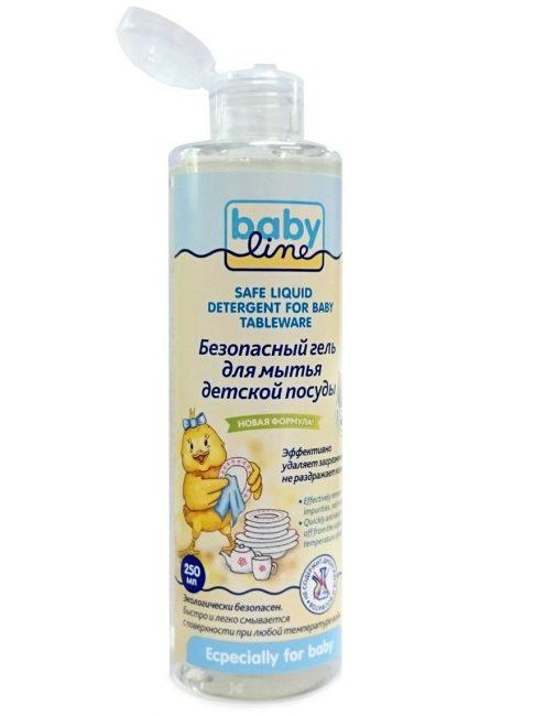 Средство для мытья детской посуды Babyline
