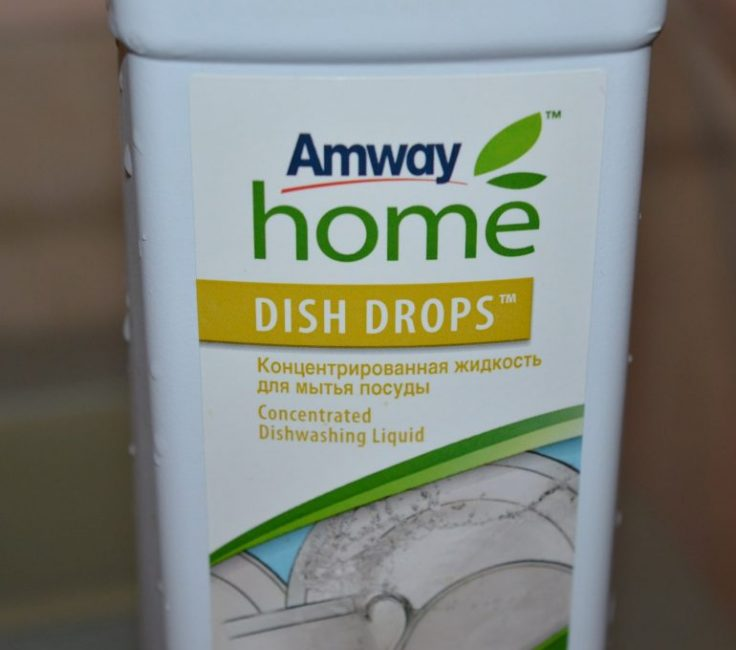 Средство для мытья посуды AmWay Dish Drops