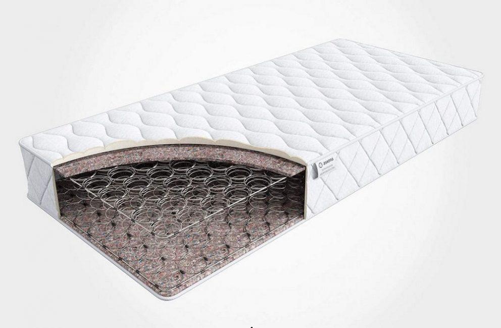 Устройство пружинной модели спальных матов