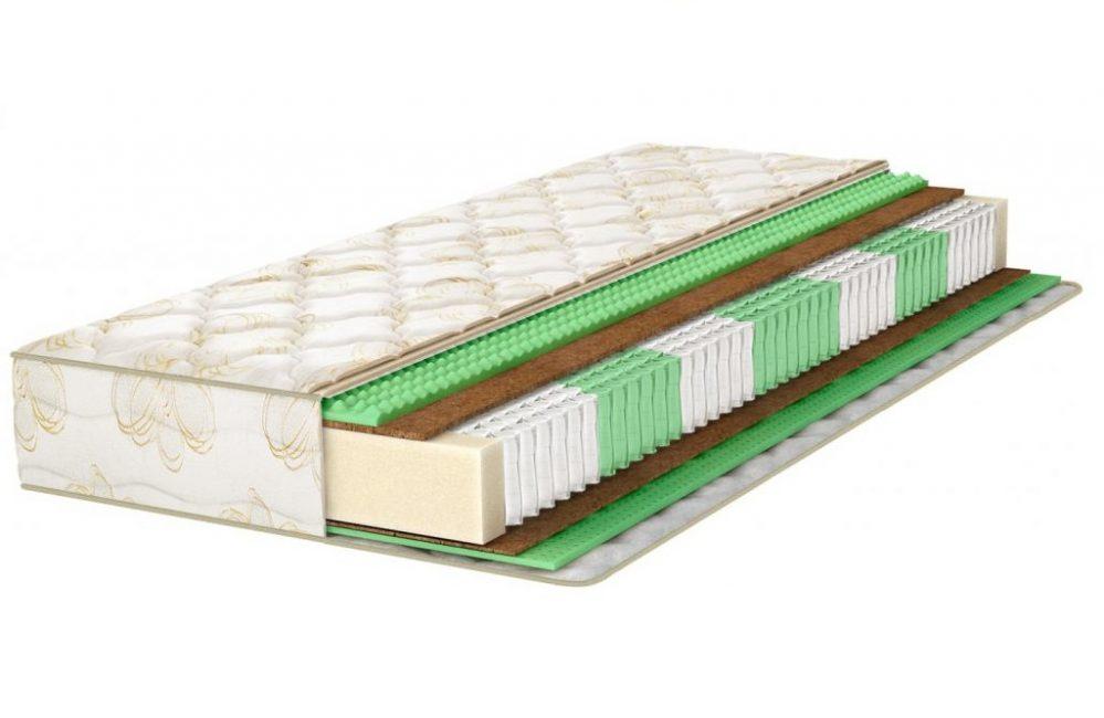 Жёсткая спальная поверхность Аскона Fitness Formula обеспечивает надёжную поддержку позвоночника во время сна