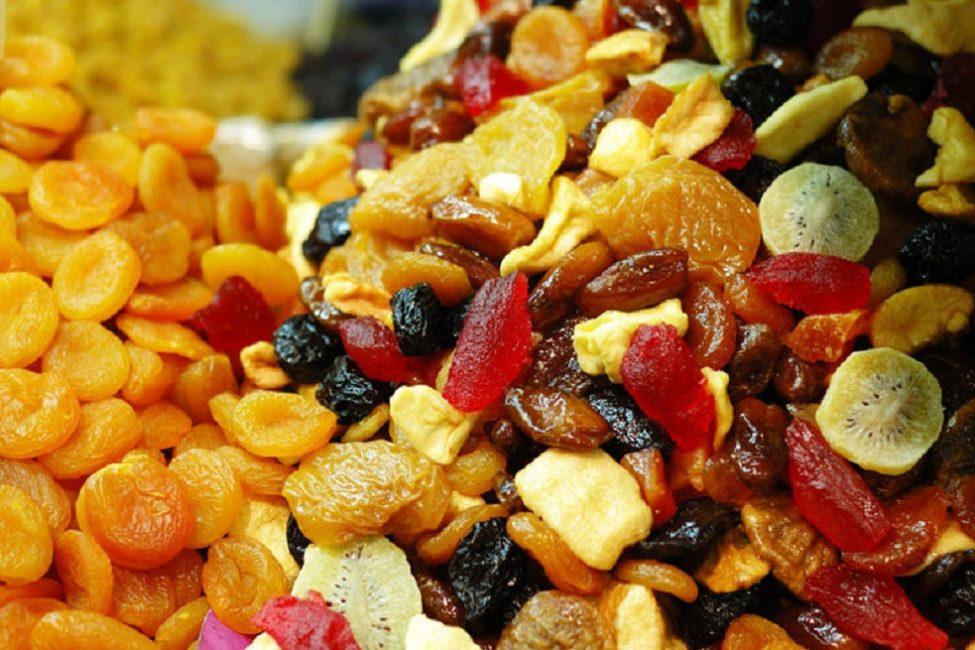 Сушеные фрукты и ягоды – богатый источник витаминов