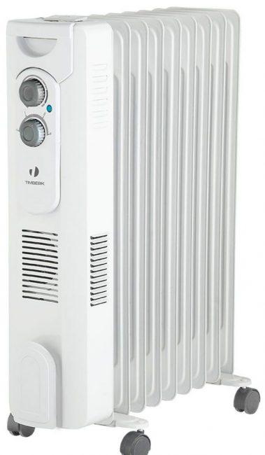 Масляный радиатор Timberk TOR 31.2409 QT