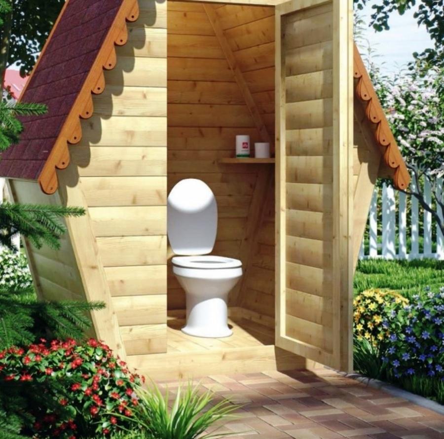 Туалеты дачные картинки