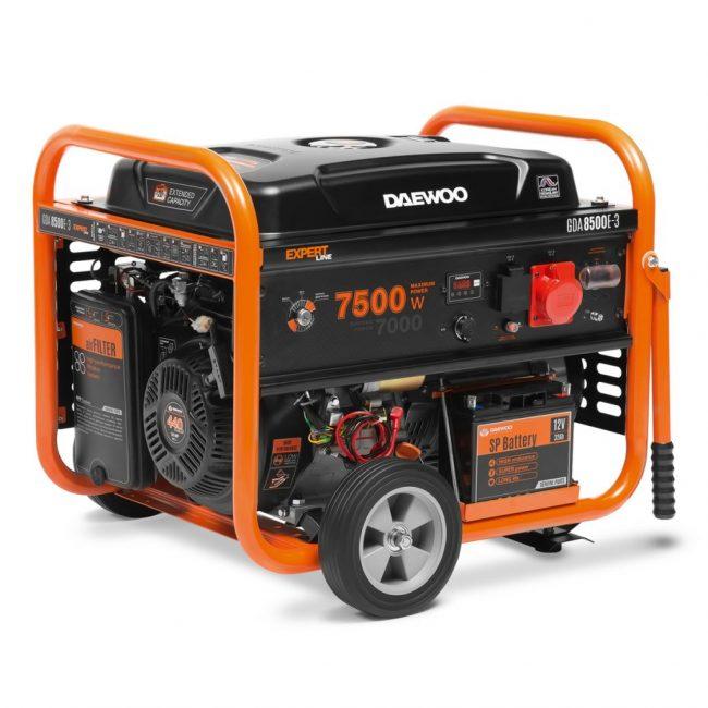 Бензиновая электростанция Daewoo Power Products GDA 8500E-3