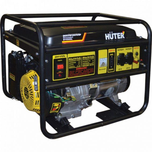 Электрический генератор Huter DY8000L