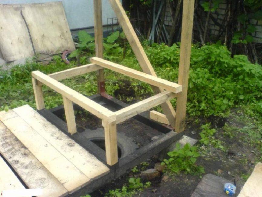 Постамент для сиденья