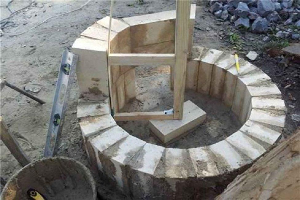Самодельное правило – необходимый инструмент при строительстве печи на узбекский лад