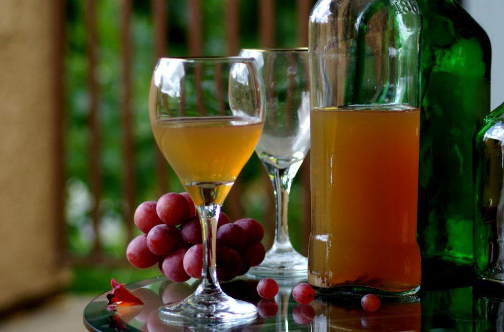 Для сухого вина необходимы виды винограда с процентной долей сахара до 20%