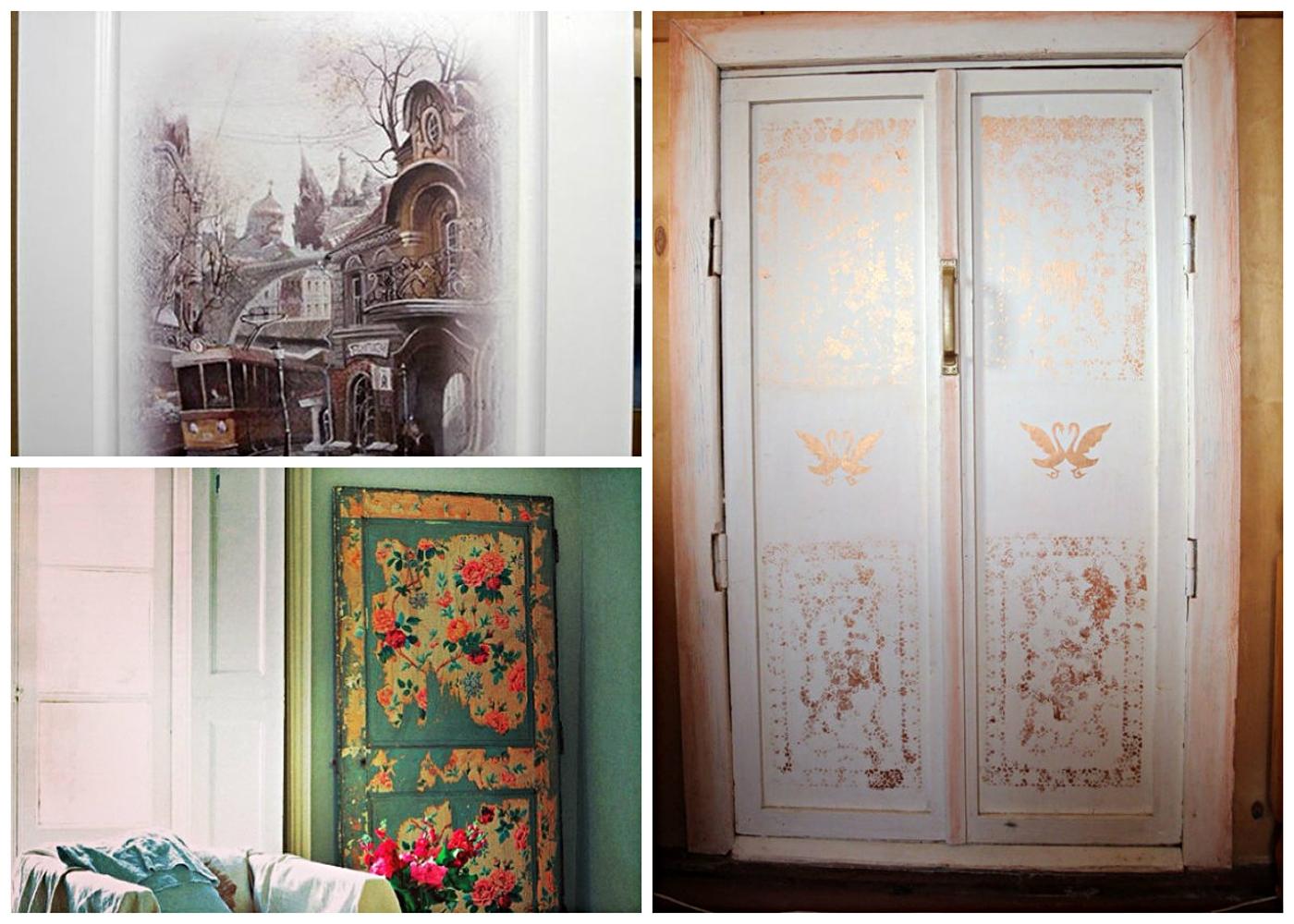 скрыть как обновить межкомнатные двери своими руками фото таких бабочек используют