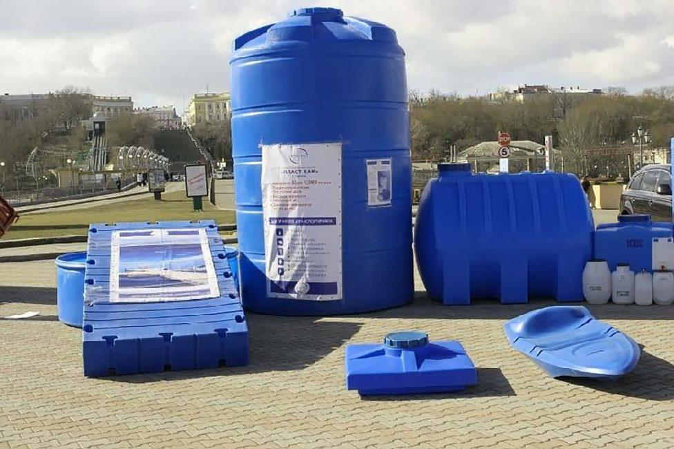 Пластиковые очистные станции выбирают по форме и объёму