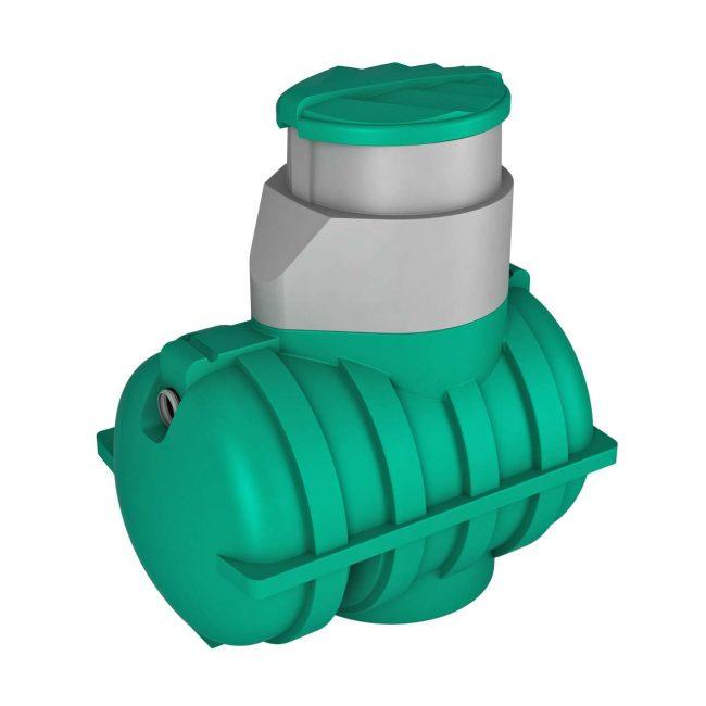 Росток Дачный – миниатюрный, но надёжный дачный резервуар для очистки сточных вод