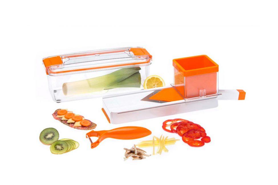 Компактный и яркий набор насадок для кухонного приспособления 115610 STATUS