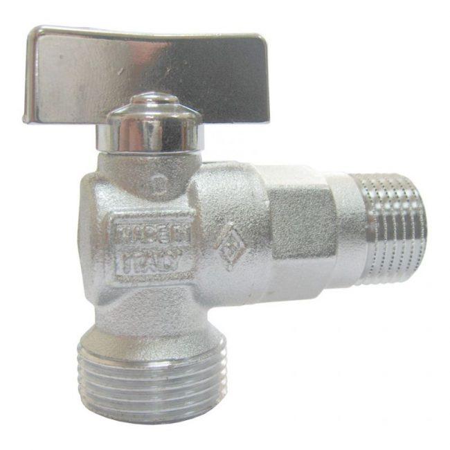 Кран для подключения посудомойки к водорозетке