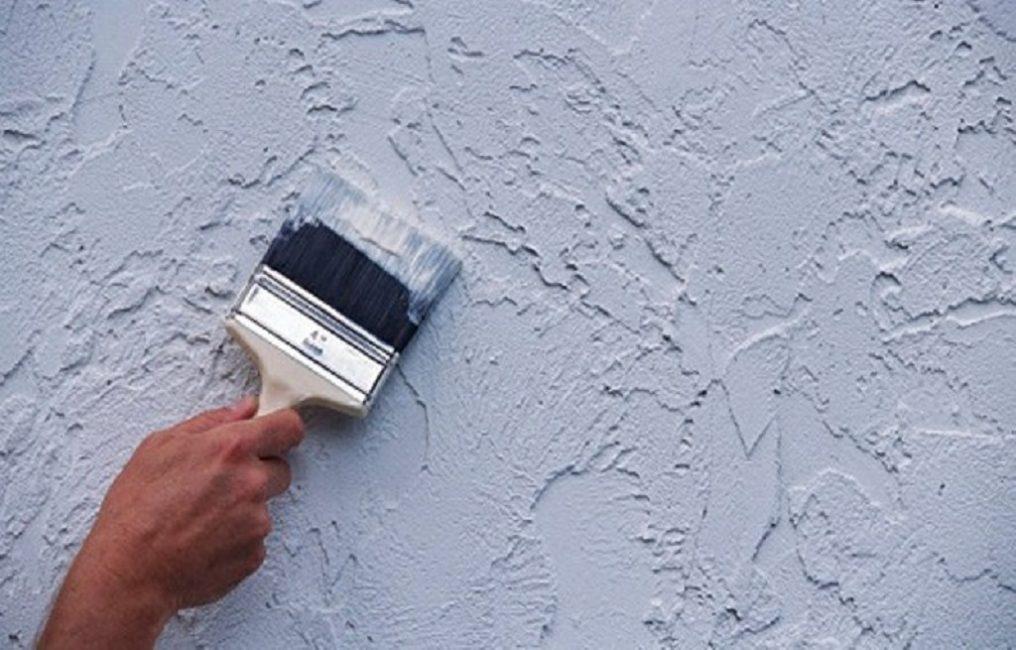 Покраска «сухой кистью»