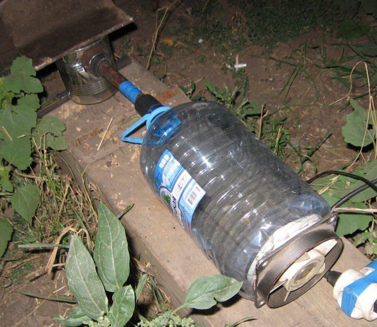 Самостоятельно изготовленный дымогенератор