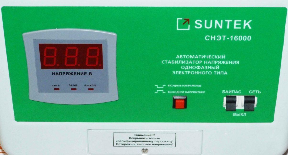 SUNTEK СНЭТ-16000