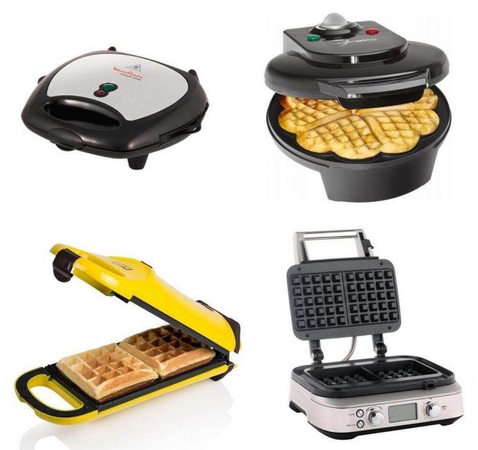 Кухонные помощники позволяют приготовить и тонкие, и пышные вафли разной формы и размера