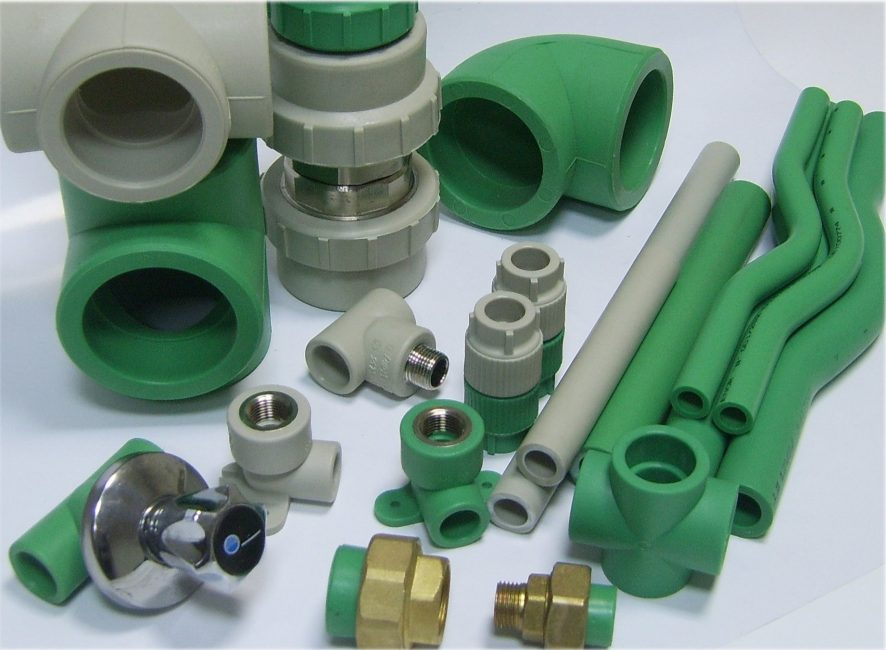 Элементы полимерных трубопроводовЭлементы полимерных трубопроводов