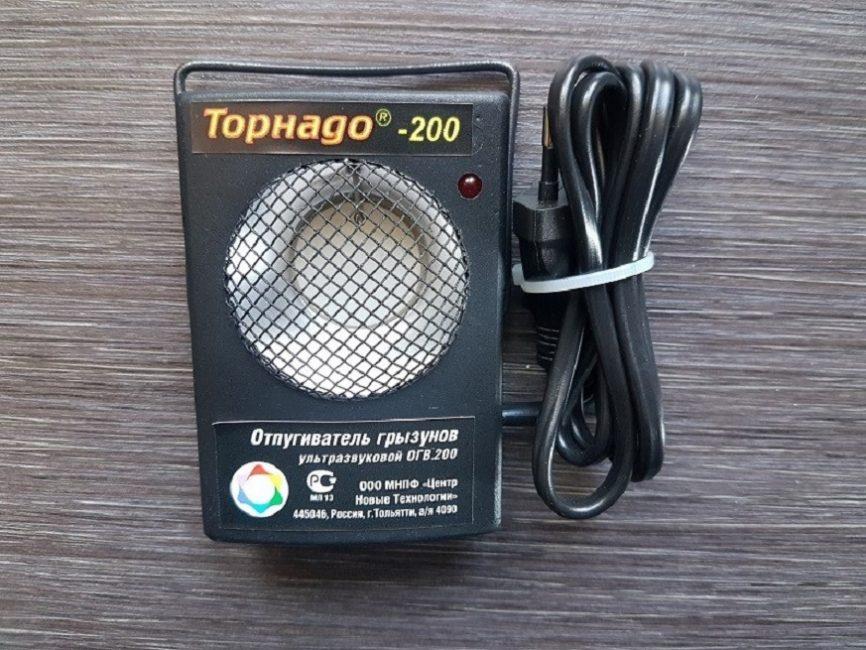 Ультразвуковой отпугивателей мышей Торнадо-200
