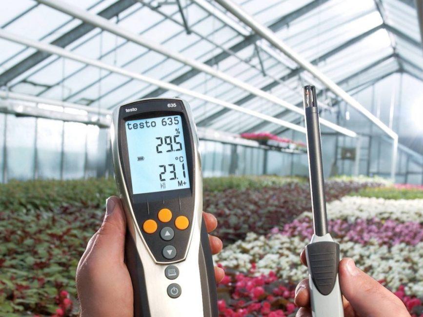 прибор для измерения влажности в помещениях